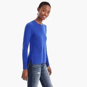NWT J. Crew Long-sleeve Everyday Cashmere Sweater